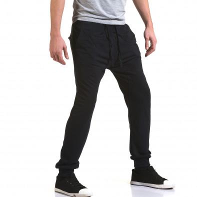 Ανδρικό γαλάζιο παντελόνι jogger Dress&GO it090216-40 4