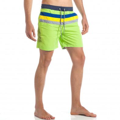 Ανδρικό πράσινο μαγιό Austar Jeans it190417-105 4
