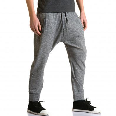 Ανδρικό γκρι παντελόνι jogger Max & Jenny ca190116-22 4