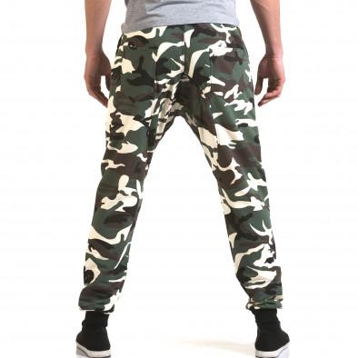 Ανδρικό πράσινο παντελόνι jogger Maximal it090216-59 3