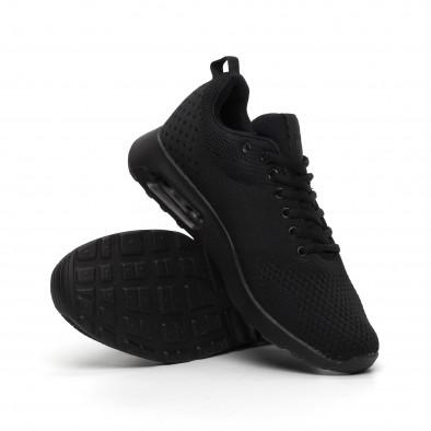 Ανδρικά μαύρα αθλητικά παπούτσια Kiss GoGo it291117-15 4