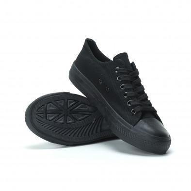 Γυναικεία μαύρα sneakers it250119-75 4