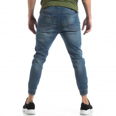 Ανδρικό γαλάζιο τζιν Jogger Jeans it210319-2 3