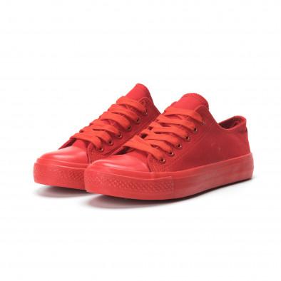Γυναικεία κόκκινα sneakers it250119-74 3