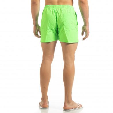 Basic ανδρικό πράσινο φωσφοριζέ μαγιό  it090519-81 3