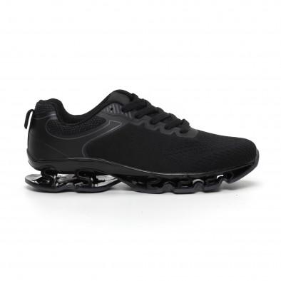Ανδρικά μαύρα αθλητικά παπούτσια Blade it260919-32 2