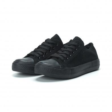 Γυναικεία μαύρα sneakers it250119-75 3
