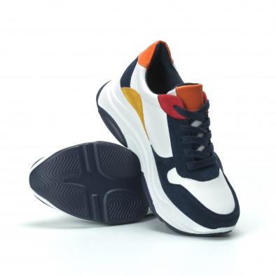 Γυναικεία πολύχρωμα sneakers με πλατφόρμα it250119-49 5
