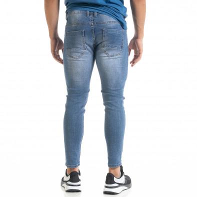 Ανδρικό γαλάζιο τζιν Bruno Leoni it080520-60 3