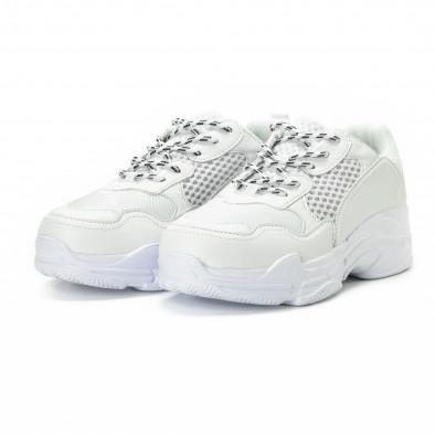 Ανδρικά λευκά αθλητικά παπούτσια All white it221018-39 3