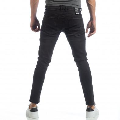 Ανδρικό μαύρο τζιν Skinny fit it040219-4 4