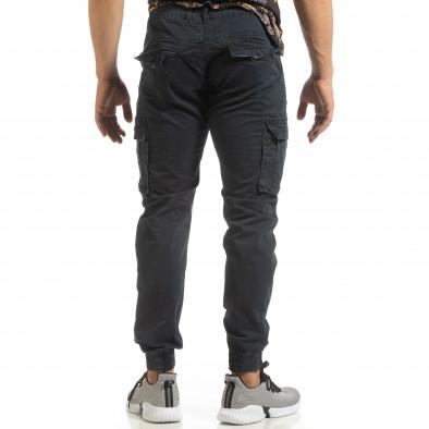 Ανδρικό μπλε παντελόνι Cargo Jogger it090519-10 4