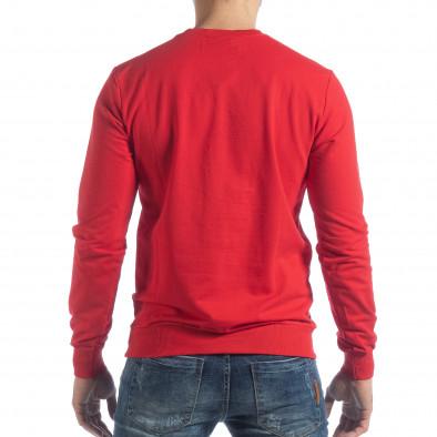 Ανδρική κόκκινη μπλούζα Basic it040219-92 3