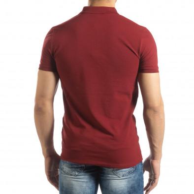 Ανδρική κόκκινη Polo Shirt it150419-95 3
