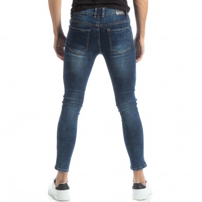 Ανδρικό μπλε τζιν Skinny it051218-1 3