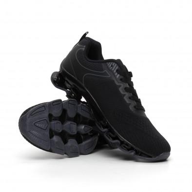 Ανδρικά μαύρα αθλητικά παπούτσια Blade it260919-32 5