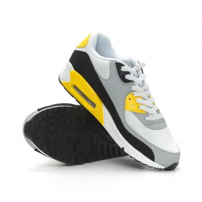 Ανδρικά πολύχρωμα αθλητικά παπούτσια με αερόσολα it150319-21 5
