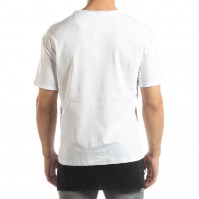 Ανδρική λευκή κοντομάνικη μπλούζα Darth Vader it150419-112 3