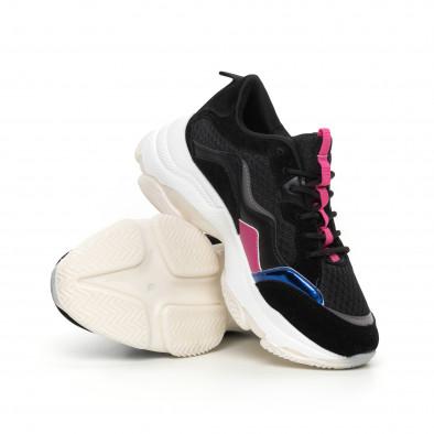 Γυναικεία αθλητικά παπούτσια με λεπτομέρειες it130819-69 4
