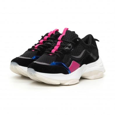 Γυναικεία αθλητικά παπούτσια με λεπτομέρειες it130819-69 3