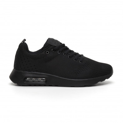 Ανδρικά μαύρα αθλητικά παπούτσια Kiss GoGo it291117-15 2
