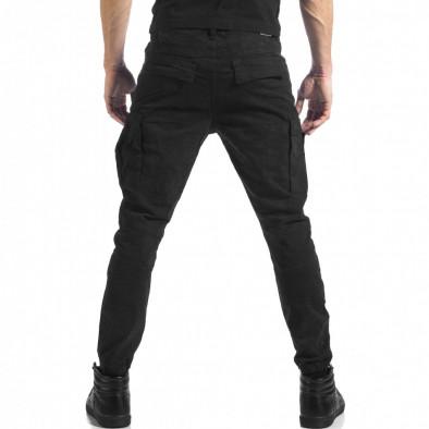 Ανδρικό μαύρο παντελόνι cargo Always Jeans it041217-43 3