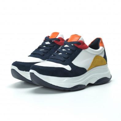 Γυναικεία πολύχρωμα sneakers με πλατφόρμα it250119-49 4