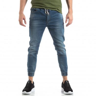 Ανδρικό γαλάζιο τζιν Jogger Jeans it210319-2 2