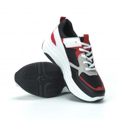 Γυναικεία sneakers από συνδυασμό χρωμάτων με πλατφόρμα it250119-33 5