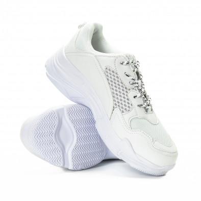 Ανδρικά λευκά αθλητικά παπούτσια All white it221018-39 4