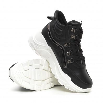 Γυναικεία ψηλά αθλητικά παπούτσια Trekking design it260919-59 4