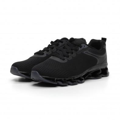 Ανδρικά μαύρα αθλητικά παπούτσια Blade it260919-32 3