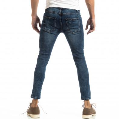 Ανδρικό γαλάζιο τζιν Slim Fit it261018-15 4