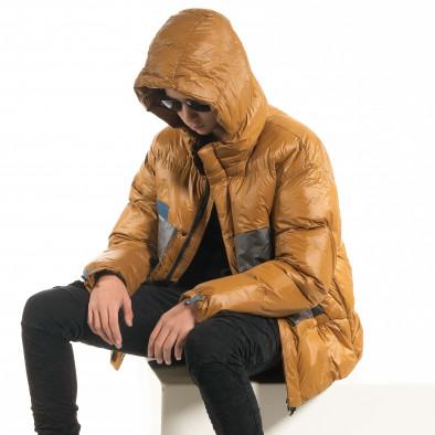 Ανδρικό χειμωνιάτικο μπουφάν με μεγάλες τσέπες it091219-15 6