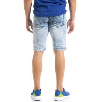 Ανδρικό γαλάζιο τζιν βερμούδα Yes!Boy it050620-11 4