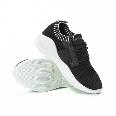 Ανδρικά μαύρα αθλητικά παπούτσια FM it150818-9 4