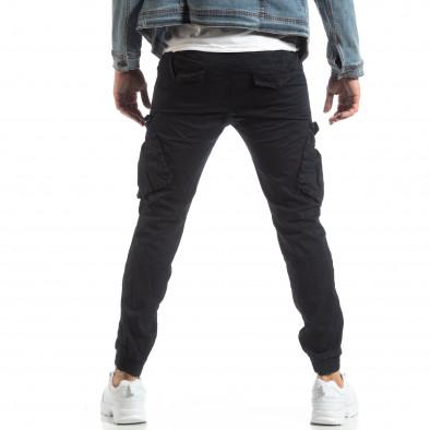 Ανδρικό σκούρο μπλε παντελόνι Cargo Jogger it210319-18 4
