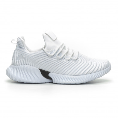 71703a74867 Ανδρικά λευκά αθλητικά παπούτσια Wave ελαφρύ μοντέλο it100519-3 2 ...