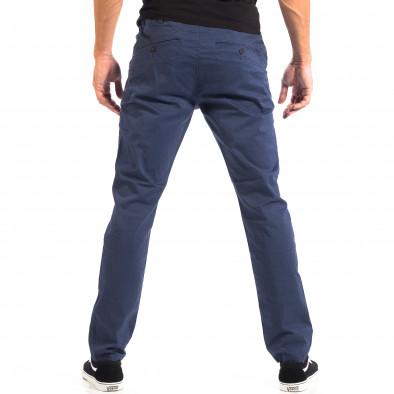 Ανδρικό μπλε Chino παντελόνι CROPP lp060818-100 3