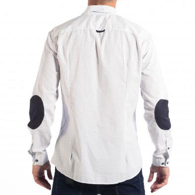 Ανδρικό λευκό πουκάμισο RESERVED lp070818-147 3