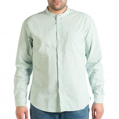Ανδρικό πράσινο πουκάμισο RESERVED lp290918-181 2