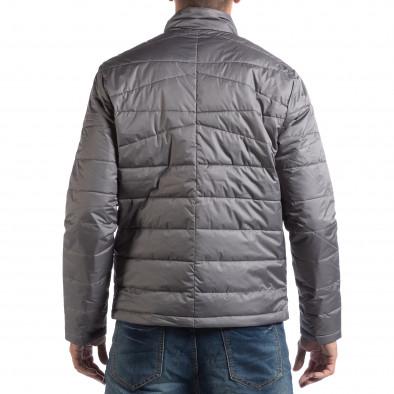 Ανδρικό μαύρο ανοιξιάτικο-φθινοπωρινό μπουφάν RESERVED lp290918-25 3