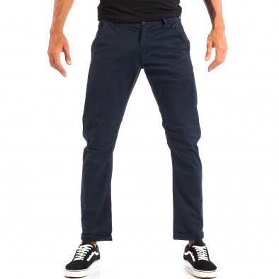 Ανδρικό μπλε Chino παντελόνι CROPP lp060818-113 2