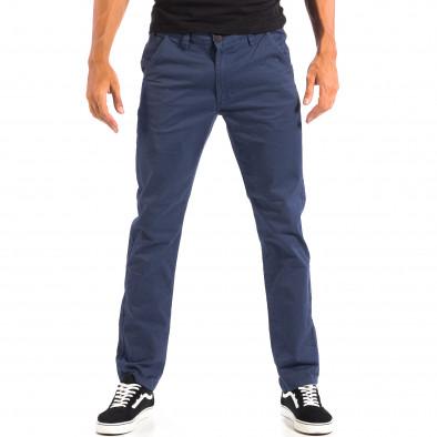 Ανδρικό μπλε Chino παντελόνι CROPP lp060818-100 2