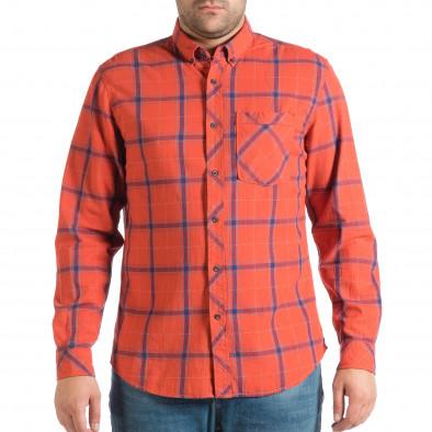 Ανδρικό κόκκινο πουκάμισο RESERVED lp290918-172 2