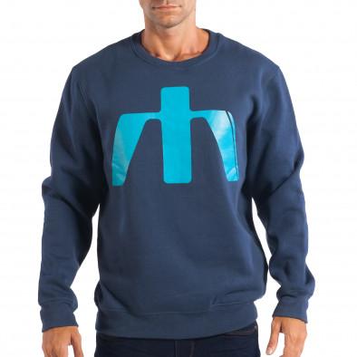 29893667686a Ανδρική γαλάζια μπλούζα House lp080818-40 - Fashionmix.gr