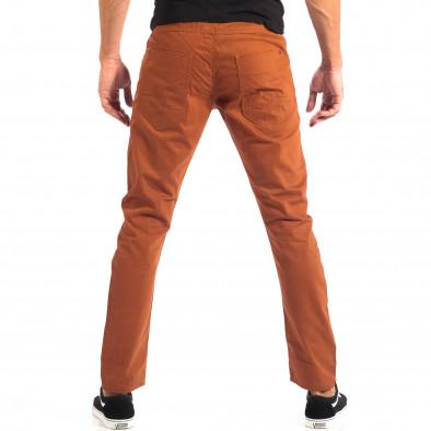 Ανδρικό λεπτό παντελόνι σε χρώμα camel CROPP lp060818-109 3