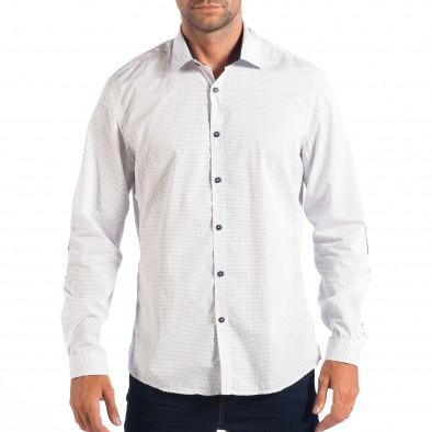 Ανδρικό λευκό πουκάμισο RESERVED lp070818-147 2