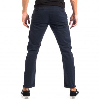 Ανδρικό μπλε Chino παντελόνι CROPP lp060818-113 3