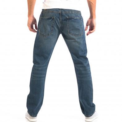 Ανδρικό μπλε τζιν στυλ Vintage lp060818-36 3